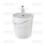 Емкость для брожения с гидрозатвором, 20 л
