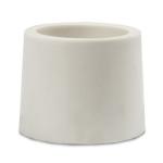 Пробка для бутыли силиконовая белая 37-41 мм