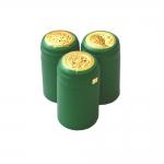 Колпачок термоусадочный зеленый 28х60, 100 шт.