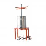 Пресс напольный для ягод и фруктов, 14 л (метрическая резьба)