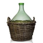 Бутыль винная 15 л в плетёной корзине
