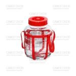 Банка 5 литров с гидрозатвором