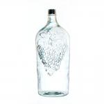 Бутыль стеклянная «Виноград», 7 л